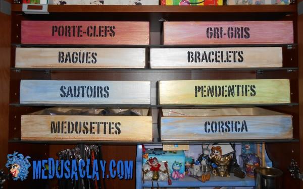 boites à bijoux et boites à mots