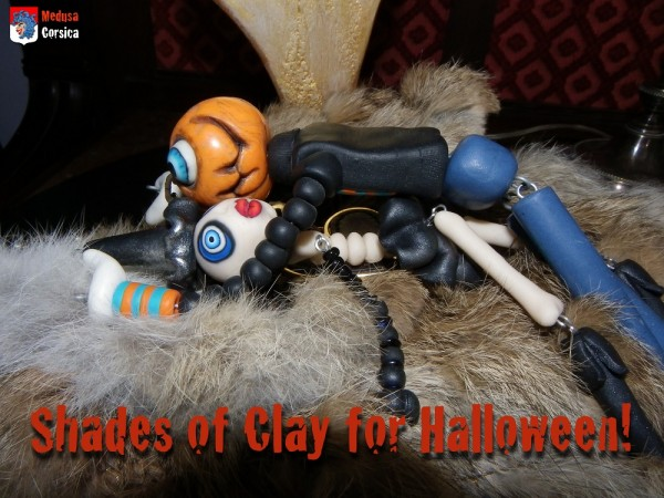 50 shades of clay for halloween