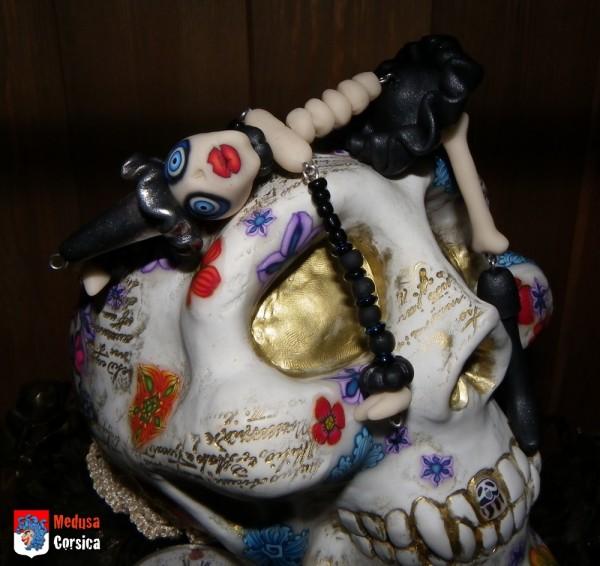 crane fluo et medusette halloween