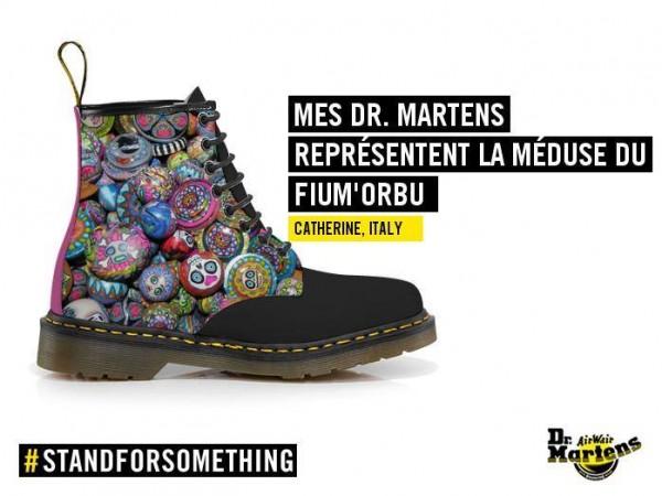 """Ma proposition de design fashion spécial """"BEADS"""" chez Dr.Martens!"""