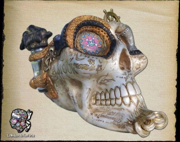 crâne Steampunk Medusa 2014