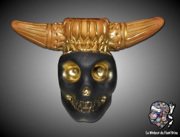 encrier crâne de minotaure