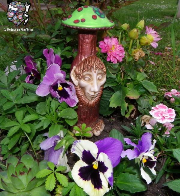 gnome champignon ou gnome invisible