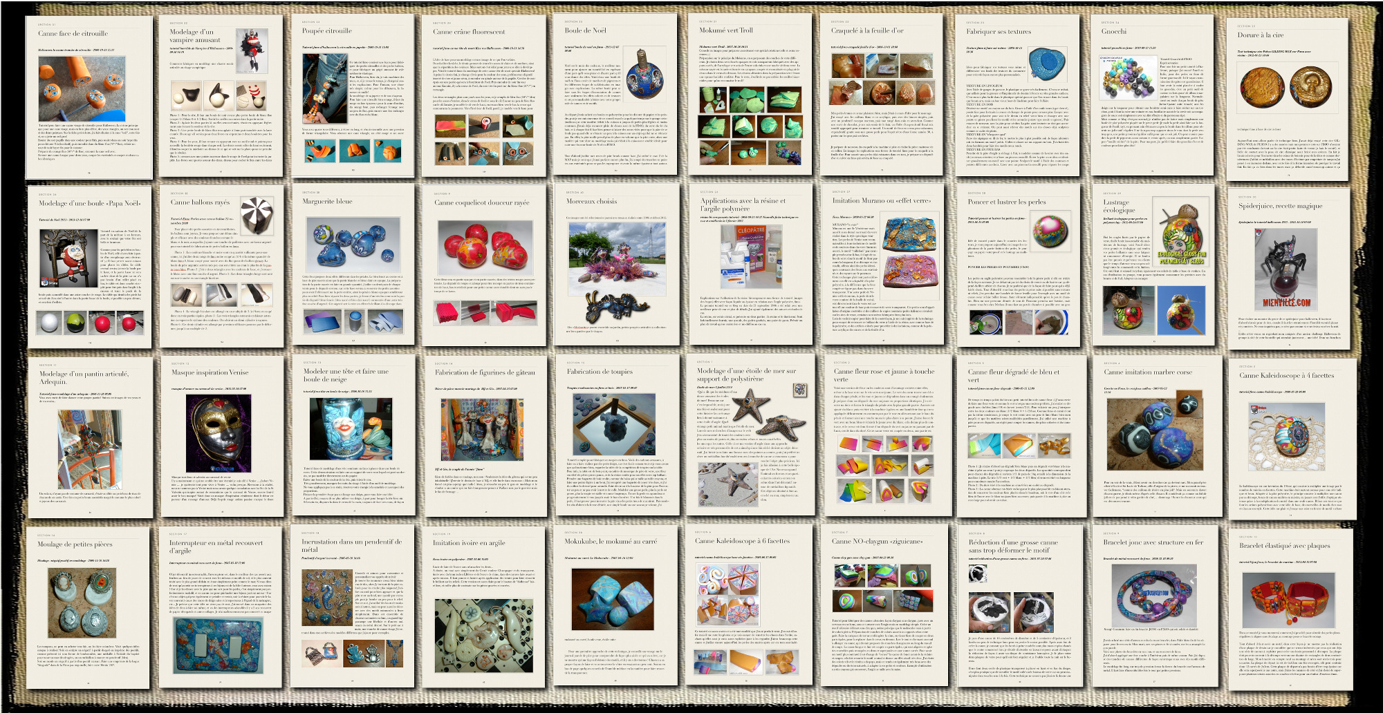 Blogbook des tutoriels en version PDF avec Google