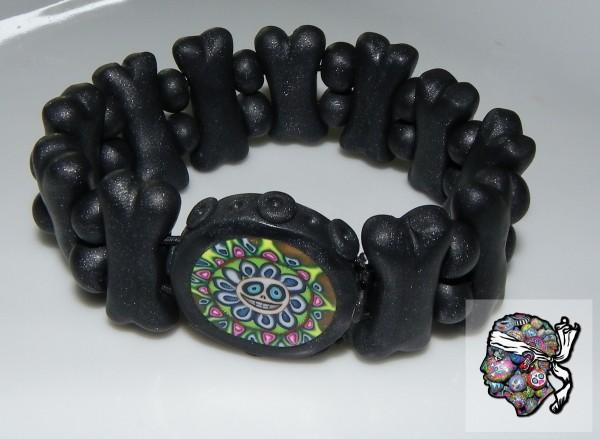 """bracelet """"nonos"""" noir"""
