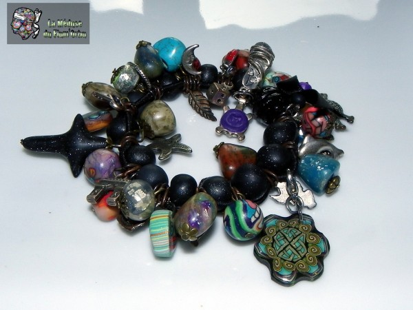 remake vieilles perles usées patinées et anciens motifs
