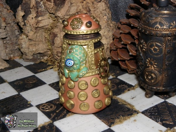 Salière Dalek inspiration Steampunk