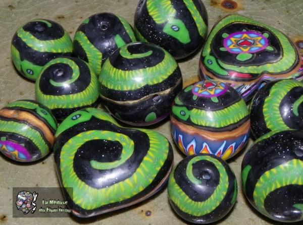 serpents de la méduse