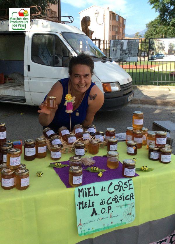 Miel Micaelli, ruches d'Aghione