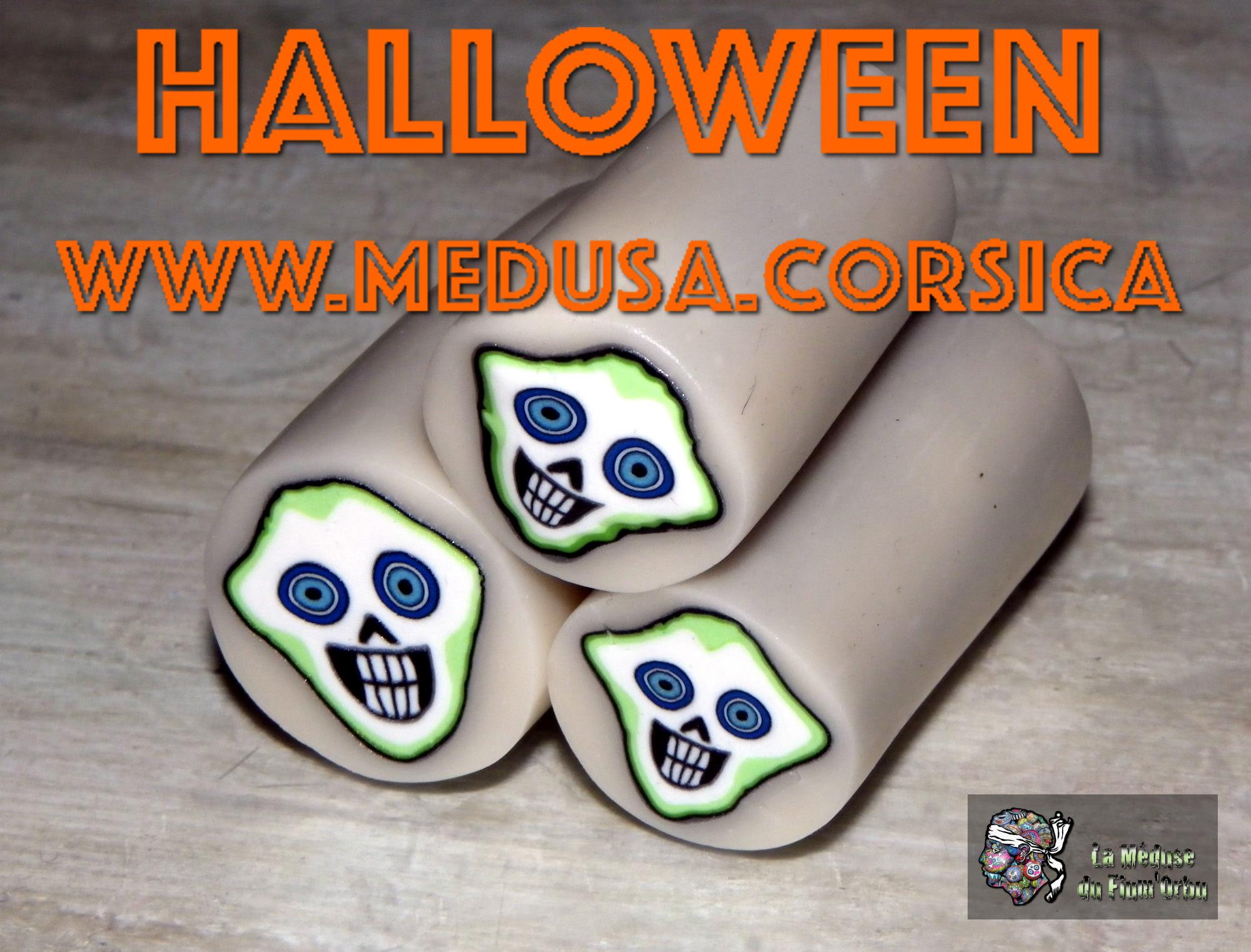 Vidéo d'Halloween, tuto crâne fluo