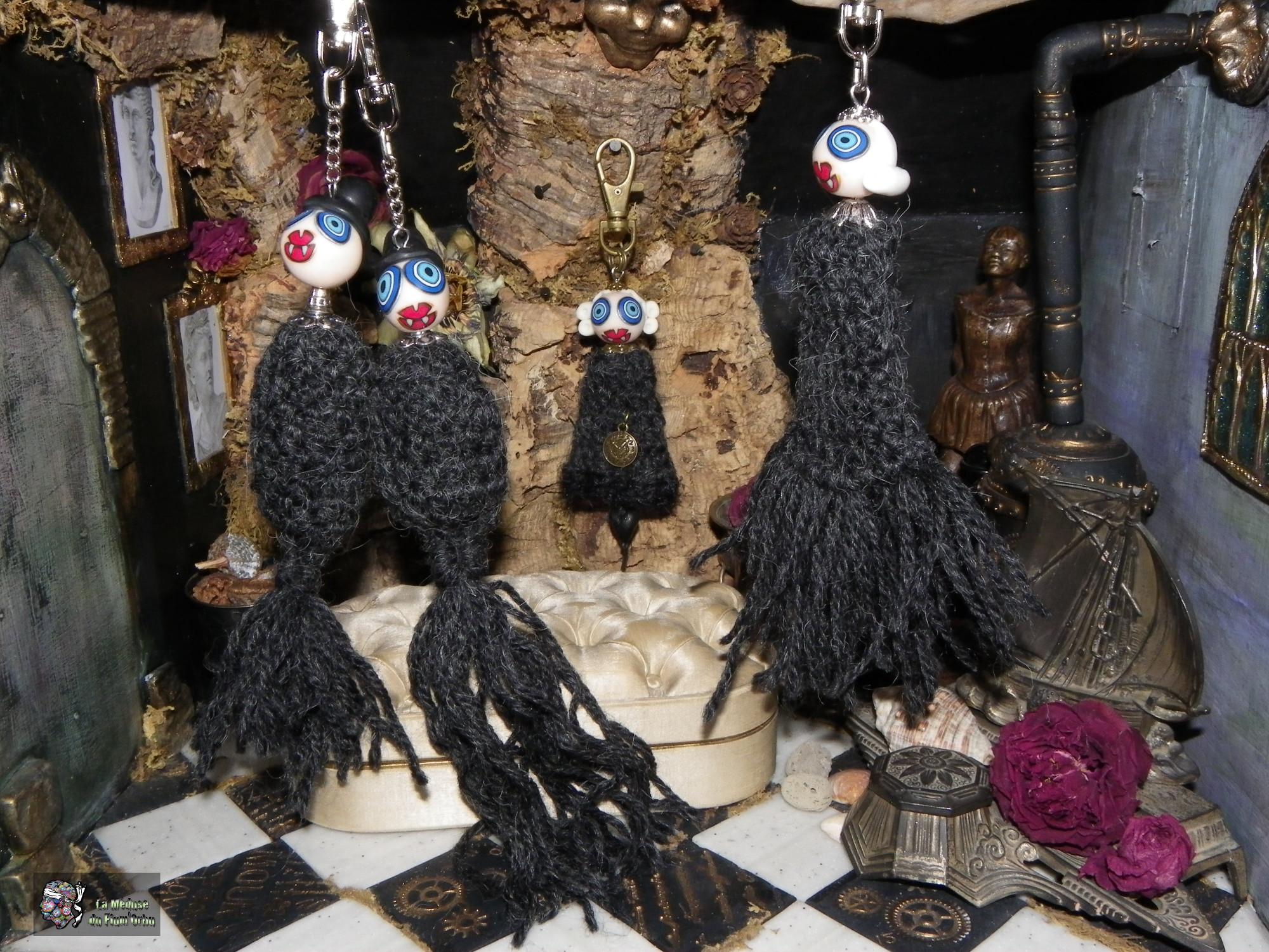 Nouvelles créatures bizarres en laine qui gratte