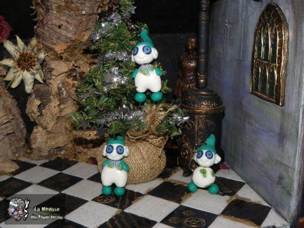 Lutins fluo pour un Noël vert!