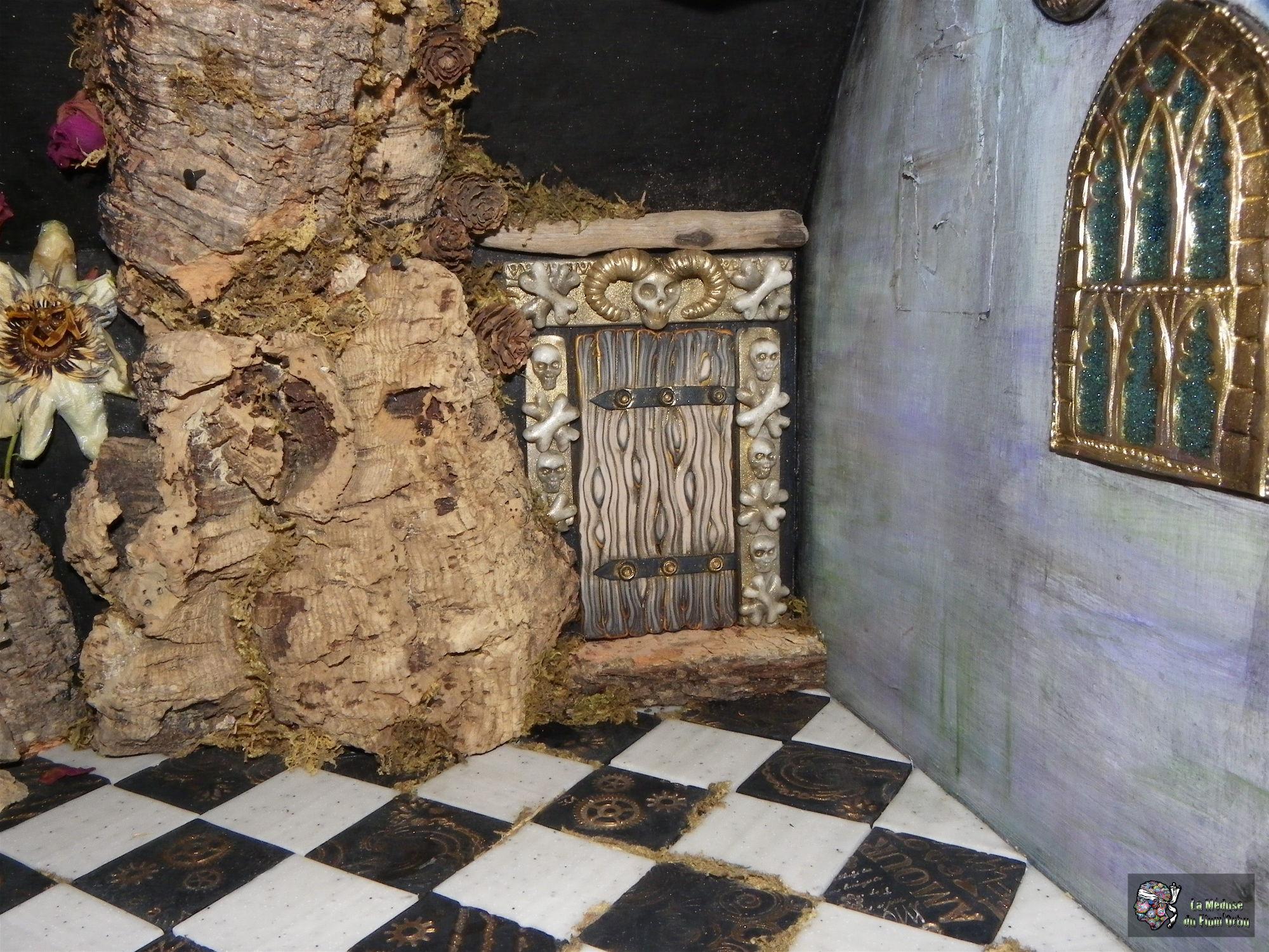 Porte des catacombes