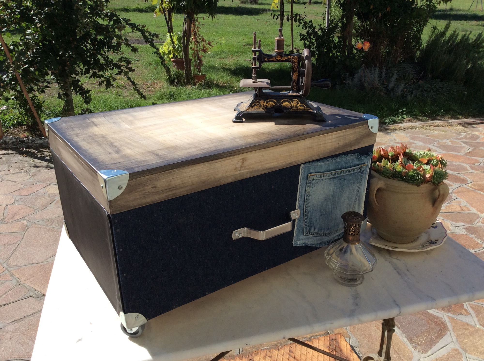 Récupération de tiroir en bois
