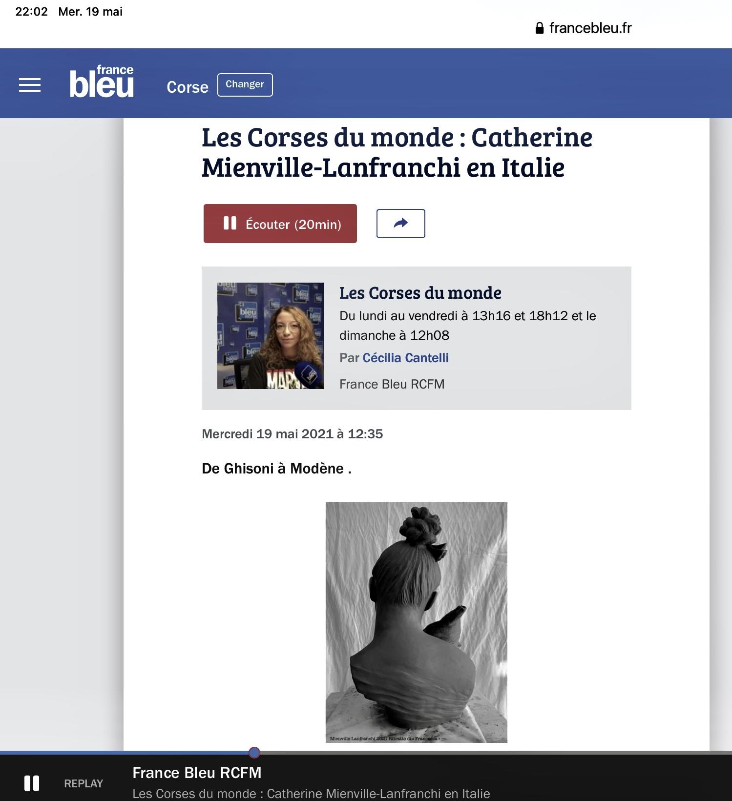 Podcast RCFM France Bleu Corse