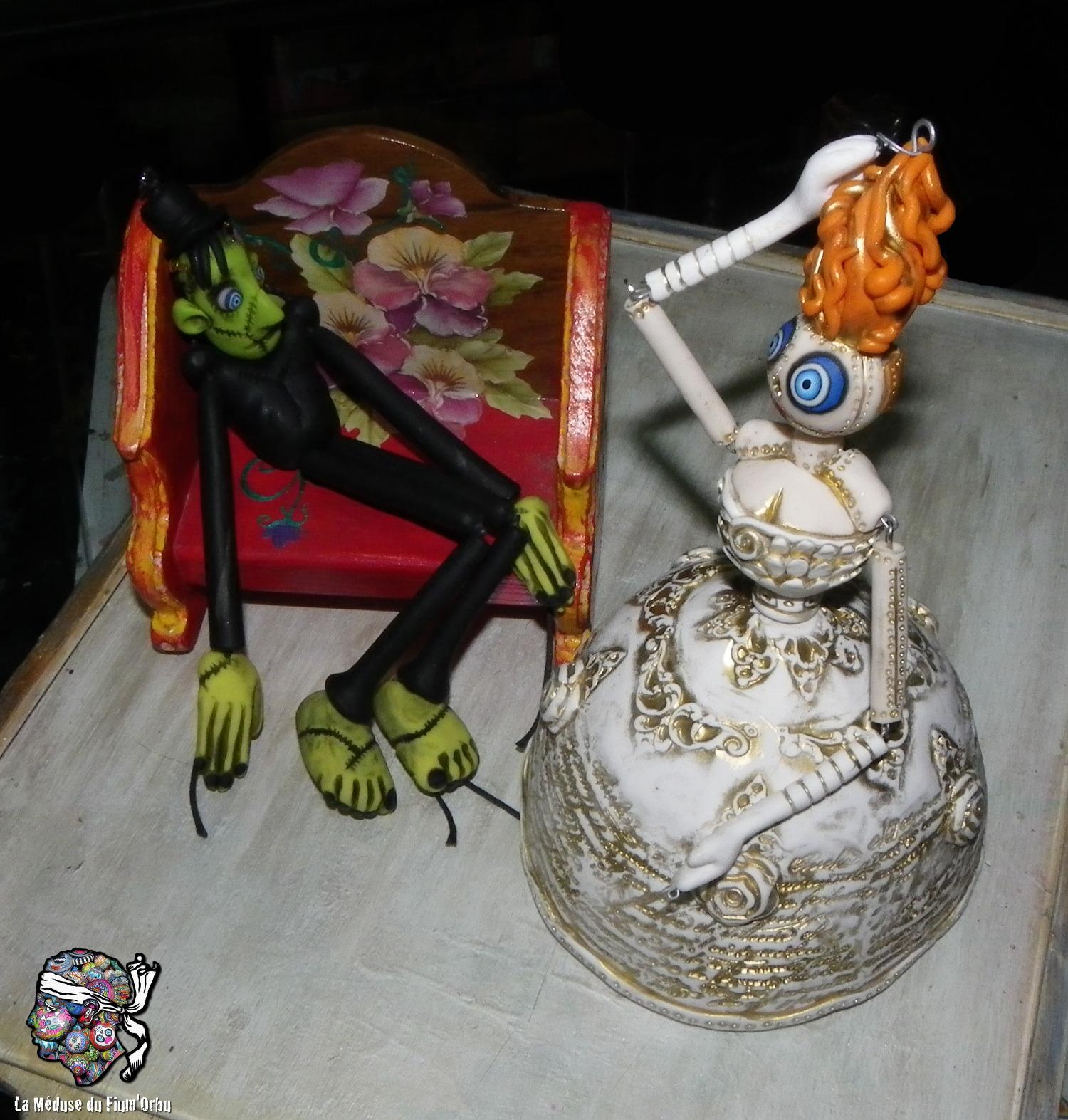 Challenge Frankenstein pour Halloween