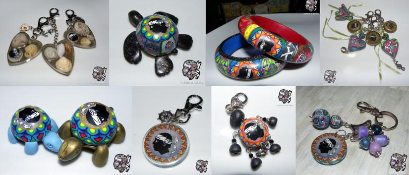 Bijoux et accessoires avec tête de Maure