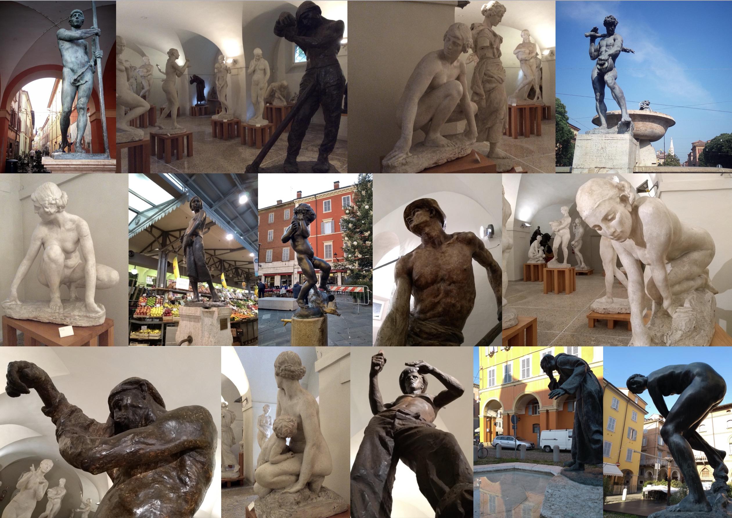 À la découverte du sculpteur Giuseppe Graziozi à Modena