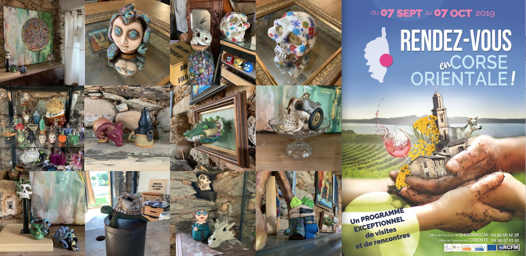 Rendez-vous en Corse Orientale, étape chez la Méduse du Fium'Orbu le 7 septembre 2019