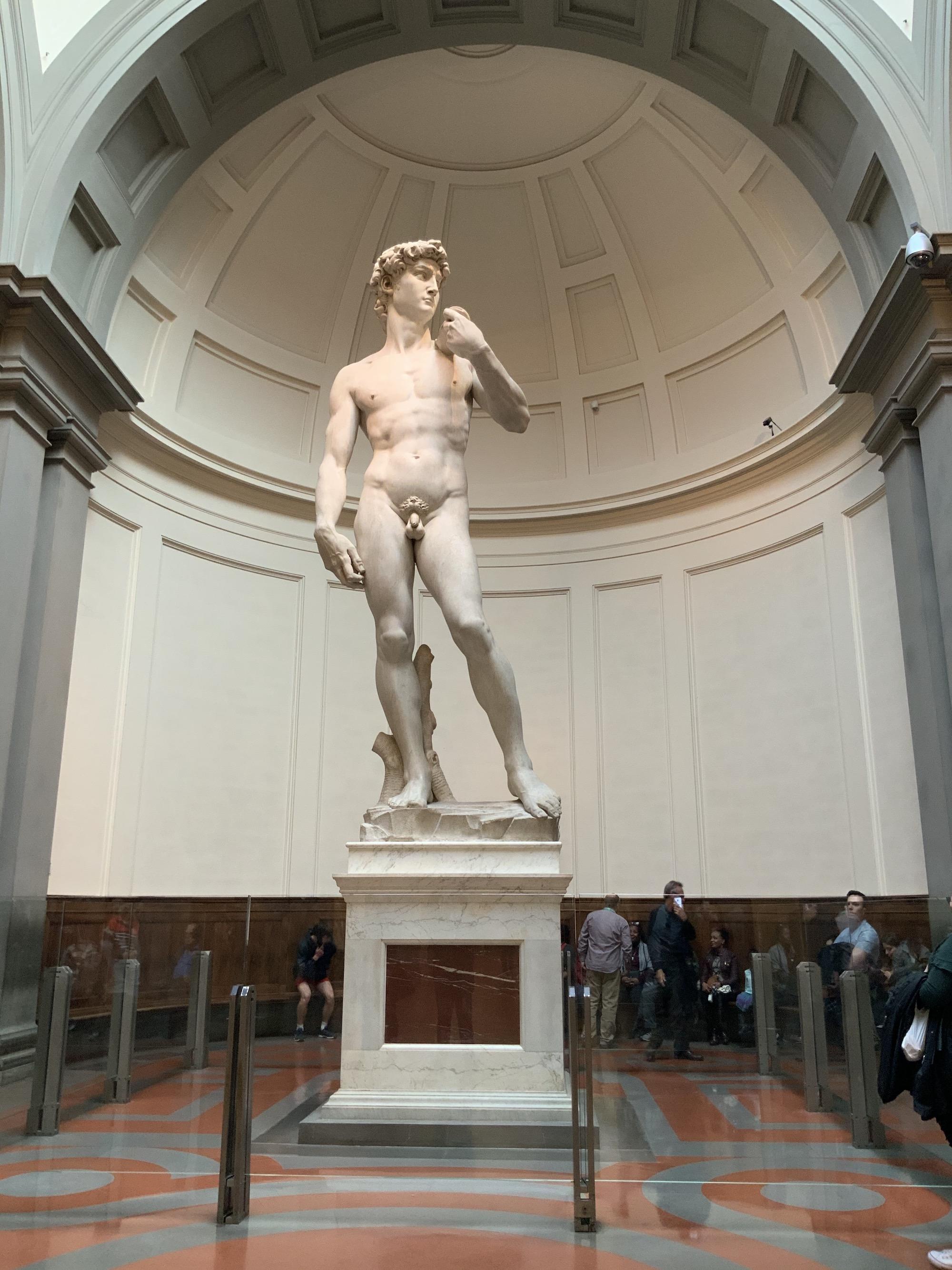Giro a Firenze, Accademia