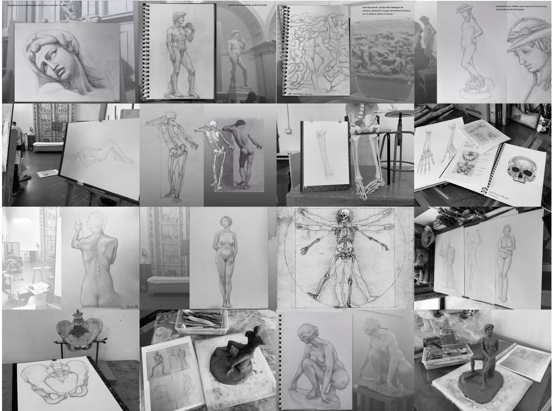 Anatomia artistica 2019-20